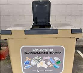 Mancomunidad de Montejurra implanta un 5º contenedor en Estella, Ayegui y Villatuerta
