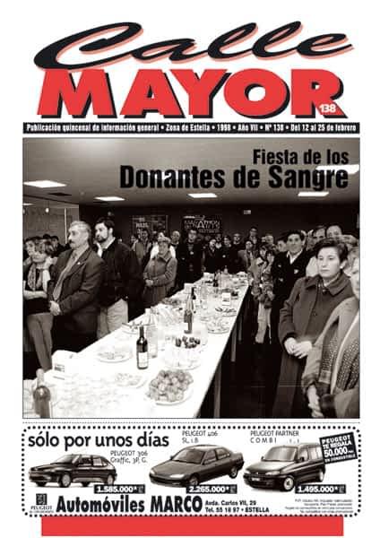 CALLE MAYOR 138 – FIESTA DE LOS DONANTES DE SANGRE