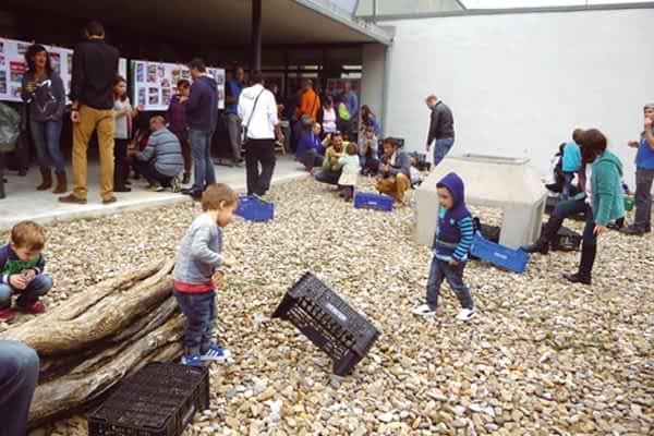 La escuela infantil Arieta celebró sus primeros diez años