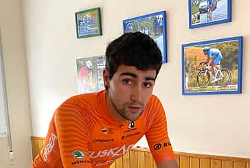 """Diego López, ciclista - """"Espero que pronto nos dejen entrenar al aire libre, con precaución"""""""