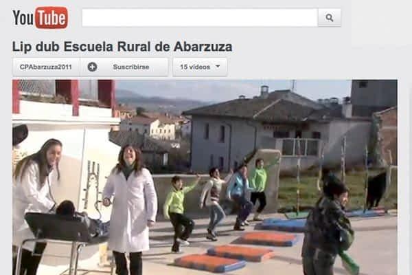 El Lip Dub de la Escuela Rural de Abárzuza alcanza las 10.000 visitas
