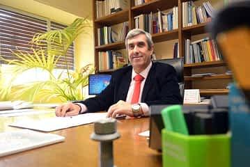 PRIMER PLANO - Miguel Iriberri - Presidente de los colegios de ingenieros industriales de España