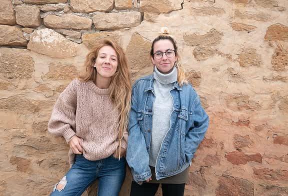 PRIMER PLANO - María Aráiz y Carla Ruiz - Actrices de teatro