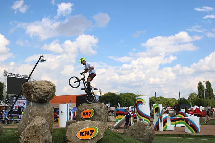 Benito Ros, quinto en el Campeonato del Mundo de Trial Bici celebrado en Vic