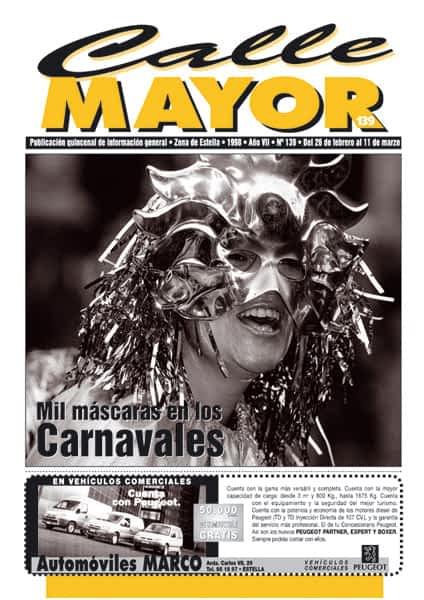 CALLE MAYOR 139 – MIL MÁSCARAS EN LOS CARNAVALES