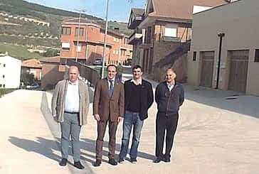 Renovadas varias calles de Arróniz, Arellano y Abárzuza
