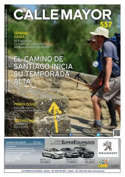CALLE MAYOR 557 – EL CAMINO DE SANTIAGO INICIA SU TEMPORADA ALTA