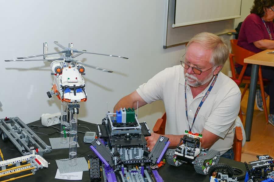 El mundo Lego abrió sus puertas a más de  2.000 personas