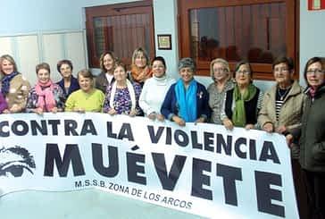 Concentraciones en Los Arcos con motivo del Día Internacional contra la Violencia de Género