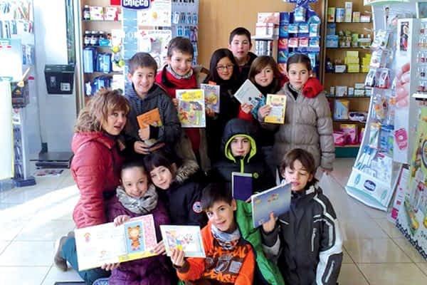 Compartir literatura y conocimientos