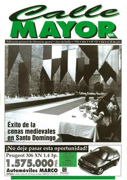 CALLE MAYOR 101 – ÉXITO DE LAS CENAS MEDIEVALES EN SANTO DOMINGO