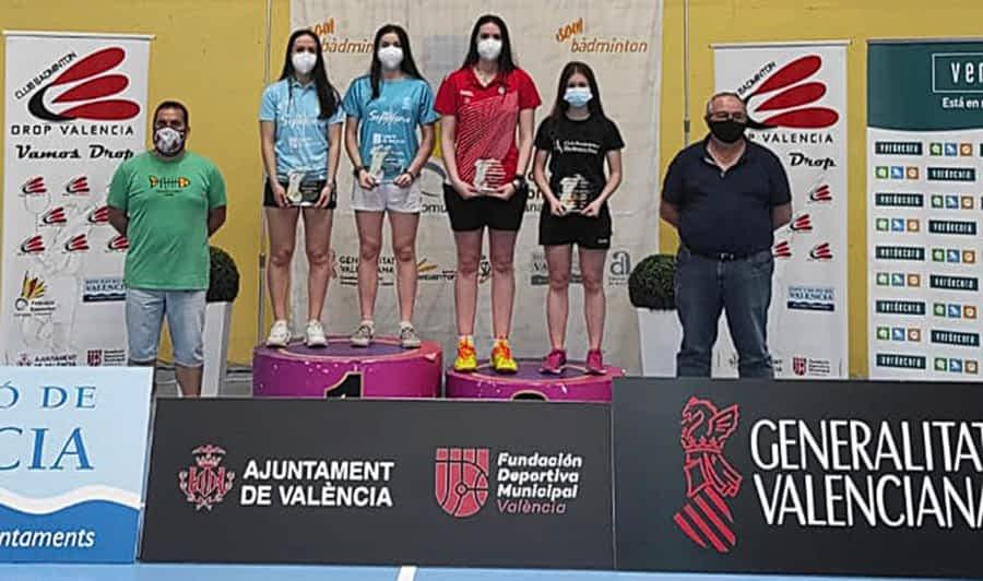 Excelente resultado el de Nelly Iriberri y Amaia Torralba en el Máster de Valencia de Bádminton