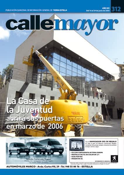 CALLE MAYOR 312 – LA CASA DE LA JUVENTUD ABRIRÁ SUS PUERTAS EN MARZO DE 2006