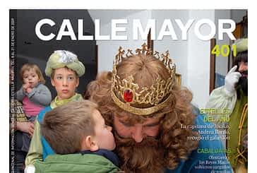 CALLE MAYOR 401 - LA NAVIDAD LLENÓ DE ILUSIÓN LAS CALLES DE ESTELLA