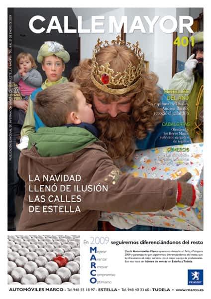 CALLE MAYOR 401 – LA NAVIDAD LLENÓ DE ILUSIÓN LAS CALLES DE ESTELLA