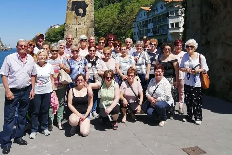 Excursión a Pasajes de la Asociación de Mujeres Mendisaura