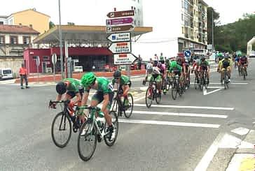 Samitier (Lizarte) ganaba en Estella la primera etapa de la Vuelta Navarra para aficionados