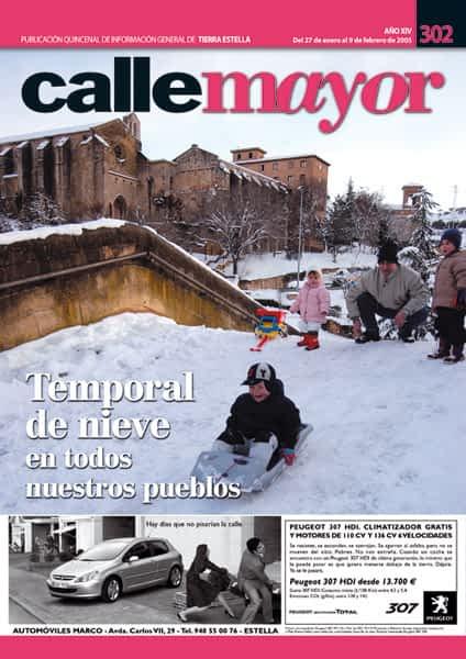 CALLE MAYOR 302 – TEMPORAL DE NIEVE EN TODOS NUESTROS PUEBLOS