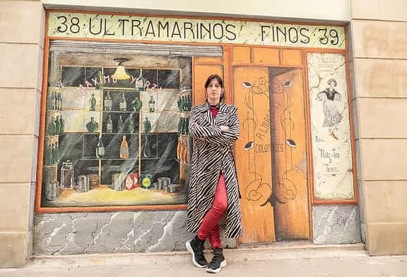 """PRIMER PLANO - Garbiñe Basarte, artista - """"Si no me pusieran plazo yo estaría ahí retocando y retocando"""""""