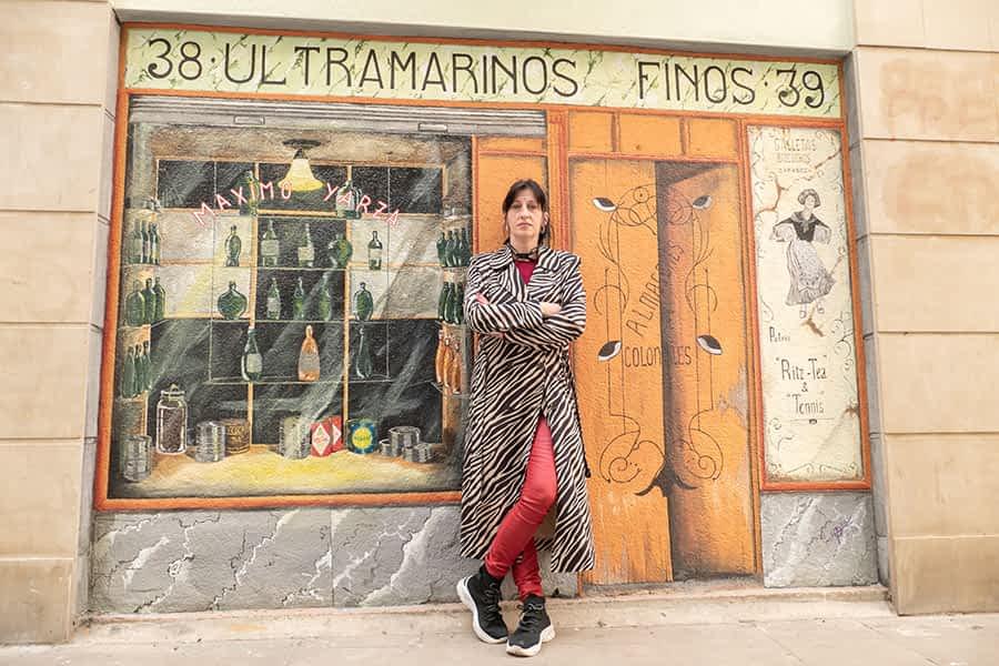"""PRIMER PLANO – Garbiñe Basarte, artista – """"Si no me pusieran plazo yo estaría ahí retocando y retocando"""""""