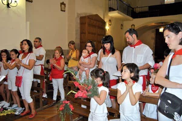 Celebró sus fiestas del 14 al 17 de agosto