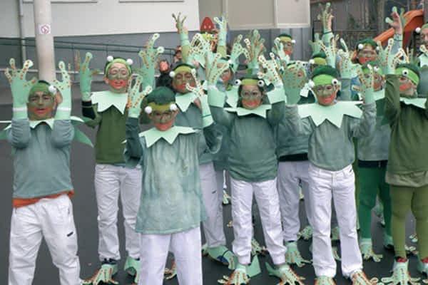 Carnaval ecológico en el colegio Remontival