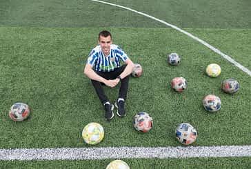 """PRIMER PLANO - ÁLEX HINOJOSA - CAPITÁN DEL C.D. IZARRA - """"Estar siete temporadas seguidas en 2ª B es como ganar un título"""""""