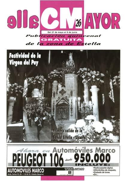 CALLE MAYOR 026 – FESTIVIDAD DE LA VIRGEN DEL PUY