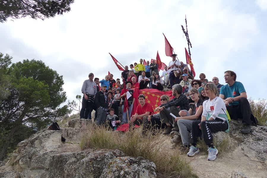 VI Marcha al Castillo Mayor de Lizarra