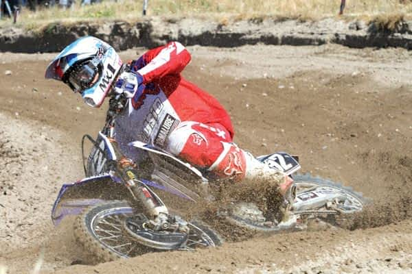 Ander Valentín se coloca líder provisional del  Campeonato de España de Motocross