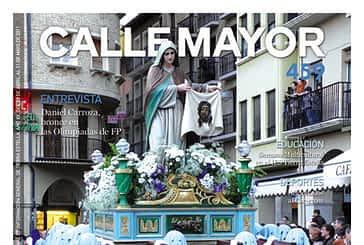 CALLE MAYOR 459 - LA PROCESIÓN DE VIERNES SANTO VOLVIÓ A RECORRER EL CENTRO DE ESTELLA