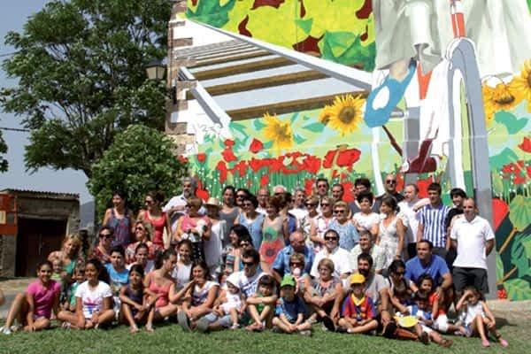 Color en el centro de Zúñiga