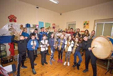 ASOCIACIONES - Alegría Oteizana - Nuevas notas musicales en el resurgir  de la banda de música de Oteiza