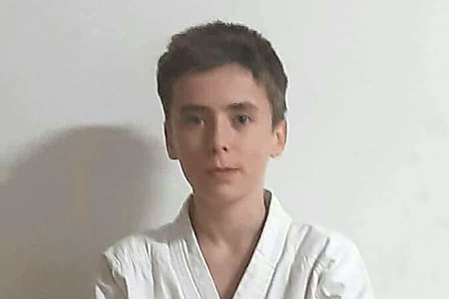 Alain Zudaire, cinturón negro de kárate