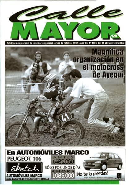 CALLE MAYOR 128 – MAGNÍFICA ORGANIZACIÓN EN EL MOTOCROSS DE AYEGUI