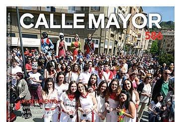 CALLE MAYOR 586 - LAS FIESTAS DEL PUY LLENARON LAS PLAZAS DE ESTELLA