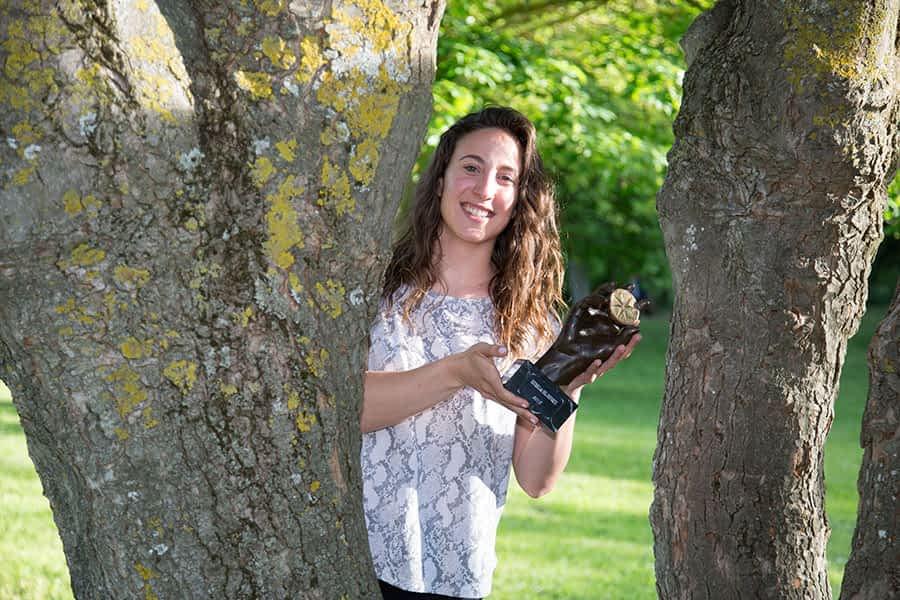 """PRIMER PLANO – Leire Aramendía Yerro, jugadora de balonmano – """"No se puede pedir más, me retiro con la Estrella del Deporte en la mano"""""""