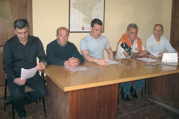 Los ayuntamientos se oponen a la subestación de Aberin