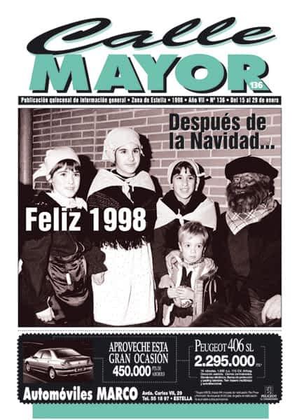 CALLE MAYOR 136 – DESPUÉS DE LA NAVIDAD… FELIZ 1998