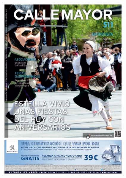 CALLE MAYOR 511 – ESTELLA VIVIÓ UNAS FIESTAS DEL PUY CON ANIVERSARIOS