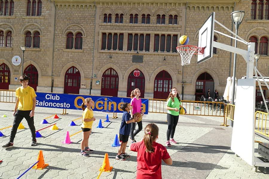 El deporte inundó las calles y plazas de Estella