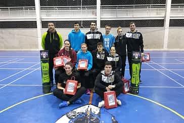 El Bádminton de Estella arrasó en el Campeonato Navarro