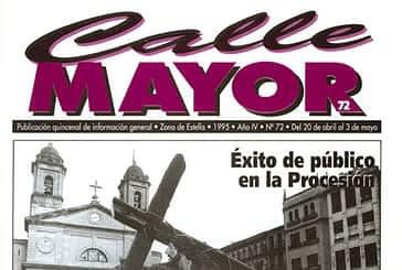 CALLE MAYOR 072 - ÉXITO DE PÚBLICO EN LA PROCESIÓN