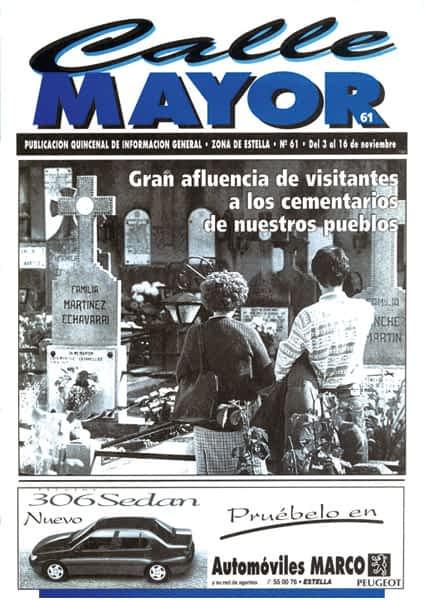 CALLE MAYOR 061 – GRAN AFLUENCIA DE VISITANTES A LOS CEMENTERIOS DE NUESTROS PUEBLOS