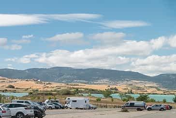 Yerri y Guesálaz animan a la reserva de aparcamiento en el embalse de Alloz