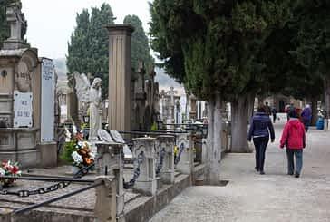 Días de visitas a los cementerios