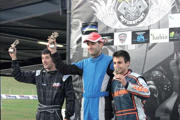 Luis Fernández, campeón navarro de Karting