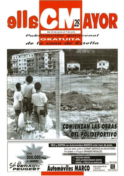 CALLE MAYOR 028 – COMIENZAN LAS OBRAS DEL POLIDEPORTIVO