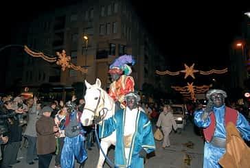 Olentzero y los tres Reyes Magos regresan a la ciudad