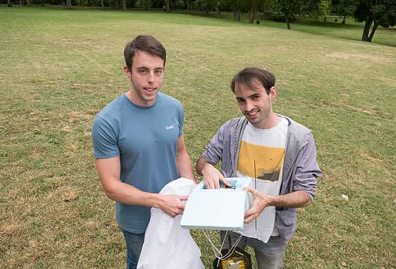 PRIMER PLANO - Ángel Albéniz y Guillermo Lardiés, del proyecto Globoestella -
